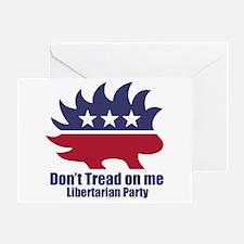 Libertarian Party Greeting Card