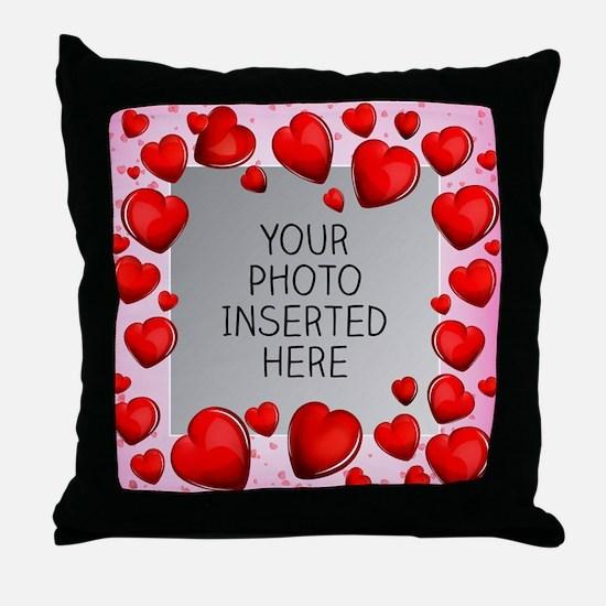 Give a Little Love Throw Pillow