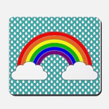rainbow pins Mousepad