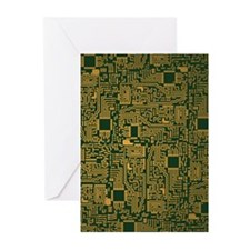 Motherboard Greeting Cards