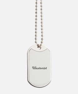 Illusionist Classic Job Design Dog Tags