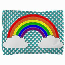 Rainbow Sky Pillow Sham