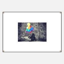 ape balloons Banner