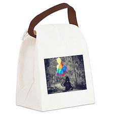 ape balloons Canvas Lunch Bag