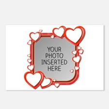 Sizes of Love Postcards (Package of 8)