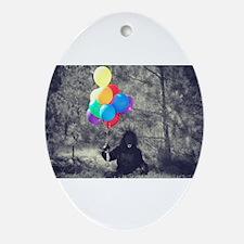ape balloons Ornament (Oval)