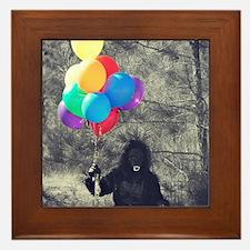 ape balloons Framed Tile