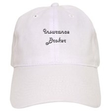 Insurance Broker Classic Job Design Baseball Cap