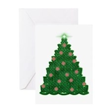 Celtic Christmas Tree Greeting Card