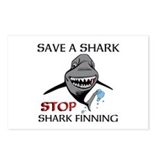 Stop Shark Finning Postcards (Package of 8)