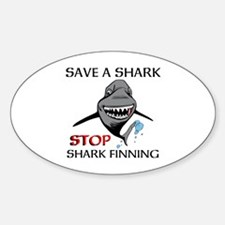 Stop Shark Finning Decal