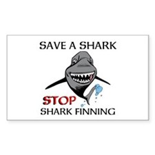 Stop Shark Finning Decal