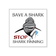 Stop Shark Finning Sticker