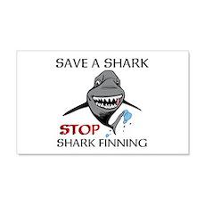 Stop Shark Finning Wall Decal