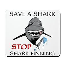 Stop Shark Finning Mousepad