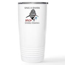 Stop Shark Finning Travel Mug