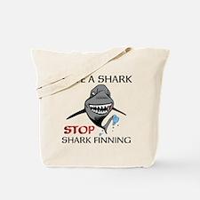 Stop Shark Finning Tote Bag