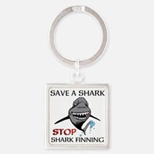 Stop Shark Finning Keychains