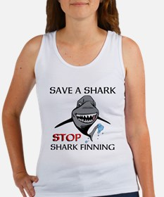Stop Shark Finning Tank Top