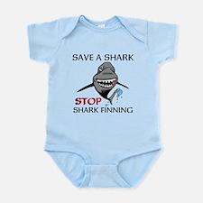 Stop Shark Finning Body Suit