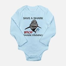 Stop Shark Finning Body Suit