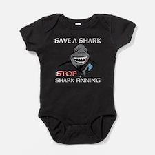 Stop Shark Finning Baby Bodysuit
