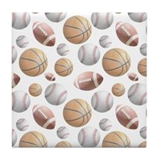 Court and Field Tile Coaster