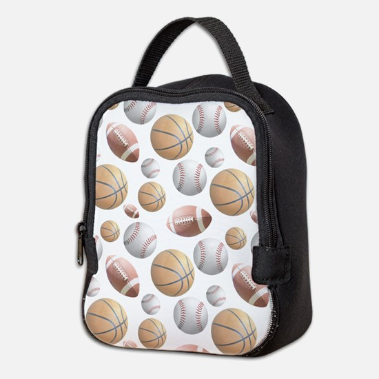 Court and Field Neoprene Lunch Bag