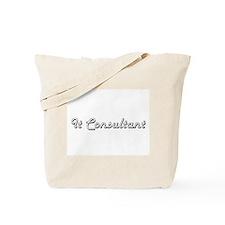 It Consultant Classic Job Design Tote Bag