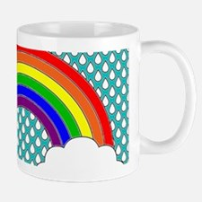 Rainbow Horizontal Frame Mugs