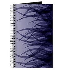 Abstract Grass Design Blue Journal