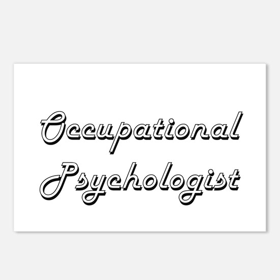 Occupational Psychologist Postcards (Package of 8)