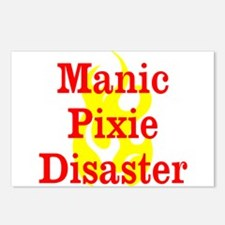 Manic Pixie Disaster Postcards (Package of 8)