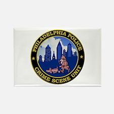 Philadelphia Police CSI Magnets