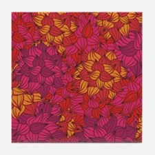 Coral Tile Coaster