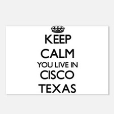 Keep calm you live in Cis Postcards (Package of 8)
