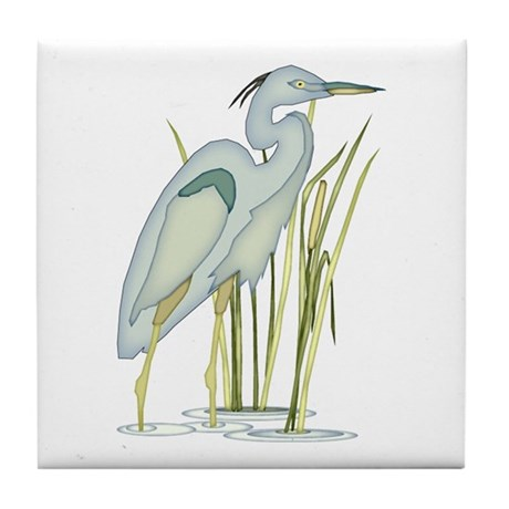 Heron Tile Coaster
