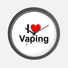 Vaping Wall Clock