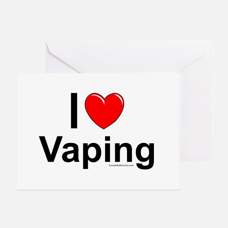 Vaping Greeting Card