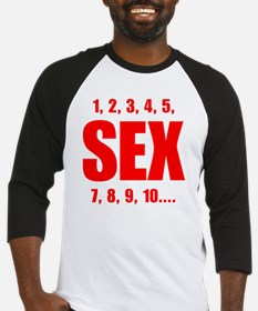 Sex Counts Baseball Jersey