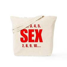 Sex Counts Tote Bag