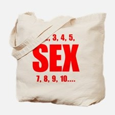 Sex Counts Tote Bag