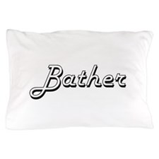 Bather Classic Job Design Pillow Case