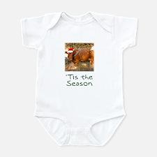 Cow Christmas Infant Bodysuit