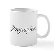 Biographer Classic Job Design Mugs
