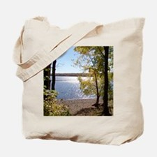 Lake View Scenery Tote Bag