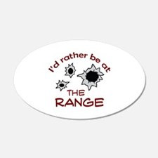 RATHER BE AT THE RANGE Wall Decal