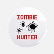 "ZOMBIE HUNTER 3.5"" Button (100 pack)"