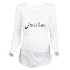 Butcher Classic Job Long Sleeve Maternity T-Shirt