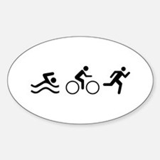 TRIATHLON LOGO Decal